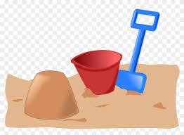 Sandbox Toys Beach Play Bucket Shovel Kids - Cartoon Bucket And ...