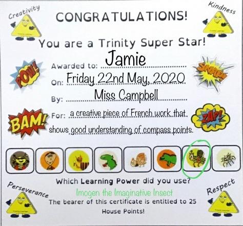 P5C - Jamie's certificate