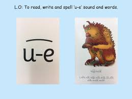 English Lesson 1 L.O: To read, write and spell 'a-e' sound and ...