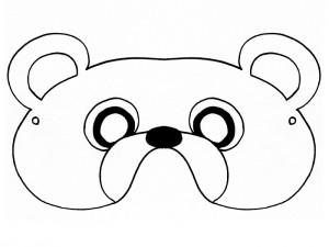 Mask - bear