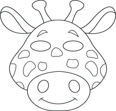 Mask - giraffe